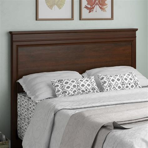 queen cherry headboard altra hanover creek wood full queen panel headboard in