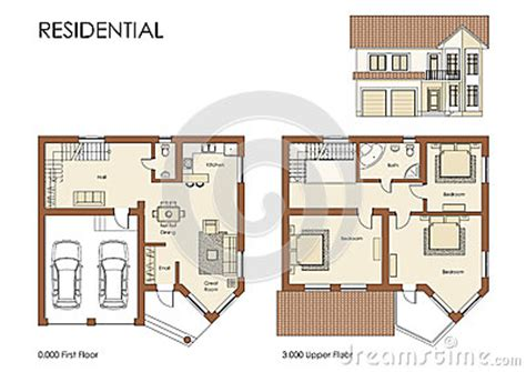 free download residential building plans residential house plan royalty free stock photos image