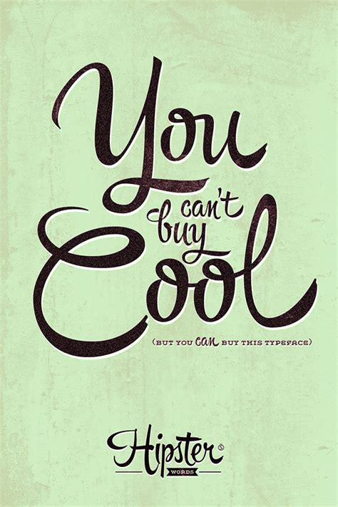 design hipster font hipster words on behance