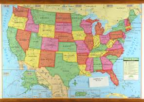 america wall map united states of america map with cities