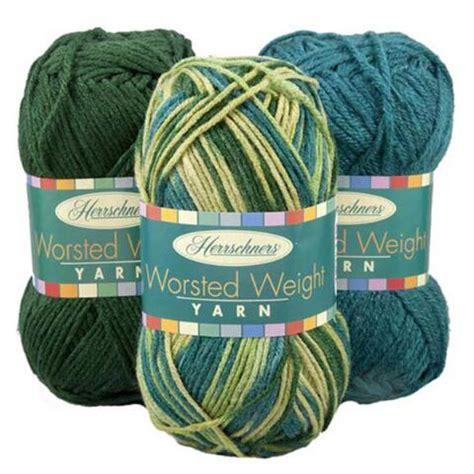 herrschners 174 worsted weight yarn