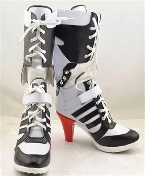 high heels made for batman squad harley quinn boots