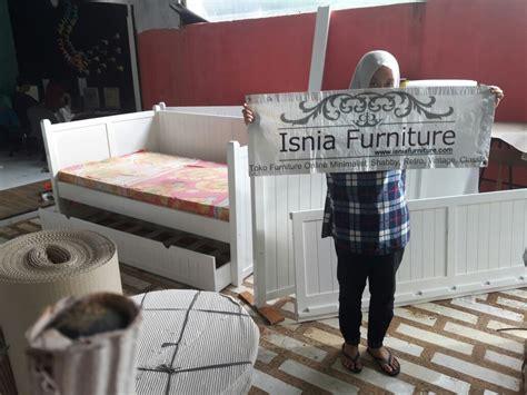 Dipan Kayu Malang dipan sorong minimalis untuk anak terlaris kayu jati