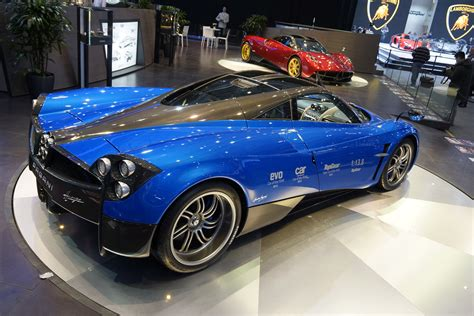blue pagani pagani and sonus faber create high end huayra audio system