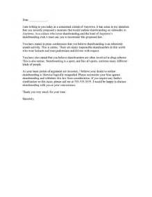 complaint letter to mayor