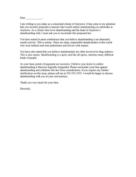 Complaint Letter Template To Council Complaint Letter To Mayor