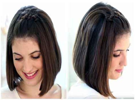 como hacer peinados para pelo corto 105 peinados f 225 ciles y bonitos de mujer cabellos cortos y