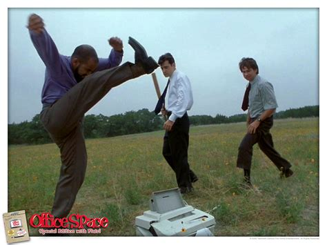 Office Space Beating Up Printer Itt Post Some Memorable Fights Ign Boards