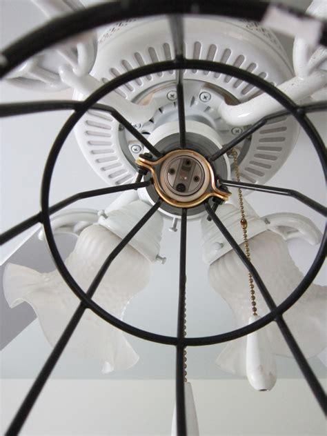serenity duet bath fan kit ceiling fan with cage light bendlin industrial 1light