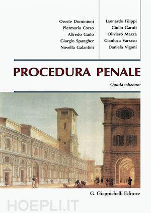 libreria giappichelli procedura penale aa vv giappichelli libro hoepli it