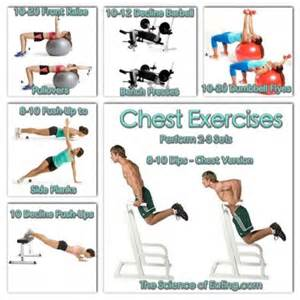 chest exercises for at home best chest exercises