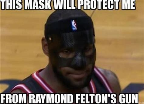 Mask Meme - lebron james black mask memes photoshops bso