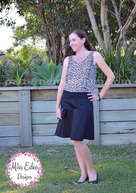 pattern emporium wrap skirt ladies a line skirt pattern emporium