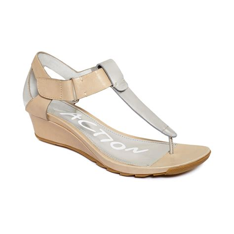 kenneth cole reaction sandals kenneth cole reaction sun kissed wedge sandals in beige