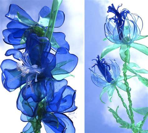fiore di plastica fiori di plastica riciclata diy