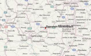 Ramstein Germany Map by Ramstein Miesenbach Location Guide