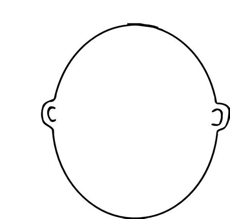 blank face coloring page this is me art pinterest