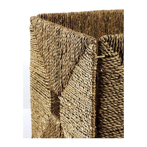 grass rug ikea knipsa basket seagrass 32x33x32 cm ikea