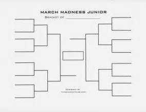sweet 16 bracket template march madness junior bracket and basketball activities for