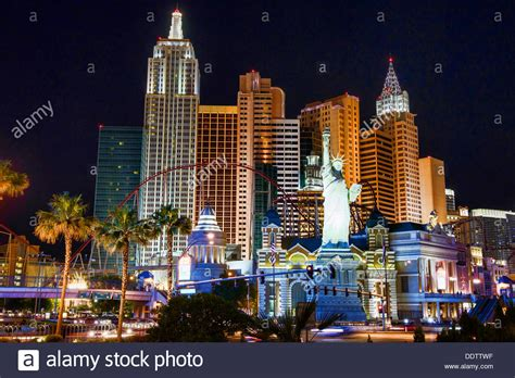 lights las vegas the lights of las vegas nevada stock photo royalty free
