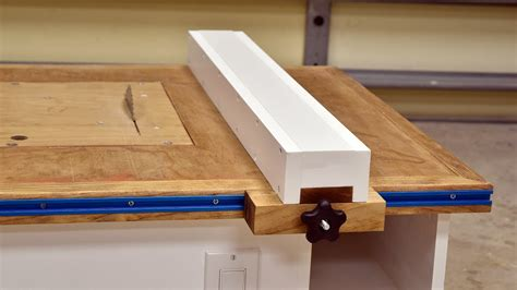 Make A Table For Your Make A Table Saw Fence Peiranos Fences Best Ideas For Table Saw Fence