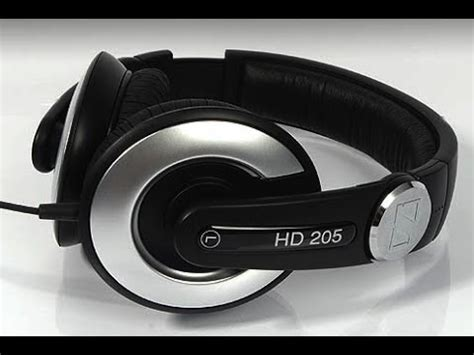 Headset Sennheiser Hd 205 sennheiser hd 205 headphones review