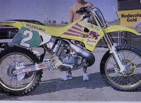 1993 Suzuki Rm250 Bob Suzuki Rm 250 Cc 1993 Motos Oficiales Mx
