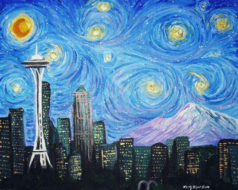 paint nite lynnwood starry wallpapers hd