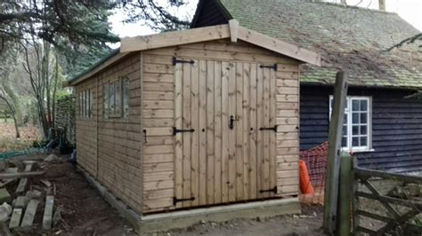 Sussex Sheds by Cousins Conservatories Garden Buildings Heavy Duty