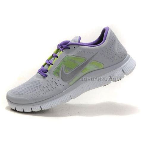 nike grey shoes nike free run 3 womens shoes grey green purple price