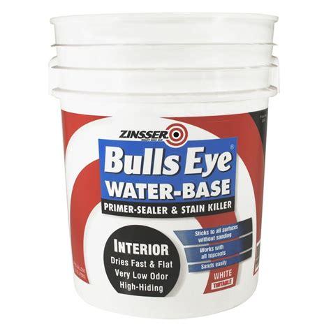 home depot zinsser ceiling paint zinsser 5 gal bulls eye water base primer 2240 the home