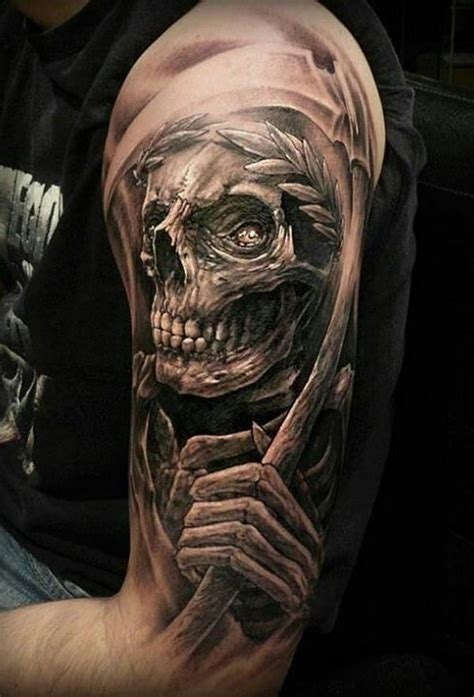 tattoo meaning grim reaper 35 daring grim reaper tattoo ideas and meanings