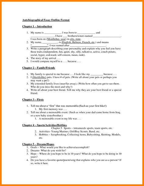 Literacy Autobiography Essay by Literacy Autobiography Essay Exle Application Letter Autobiography Sketch Sle Exle