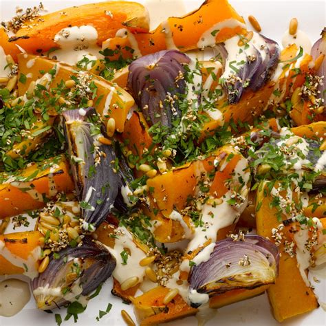 ottolenghi vegetarian pasta recipes roast butternut squash and with tahini and za