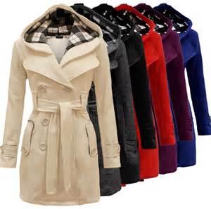 Outwear Fashion Womens Warm Winter Hooded Long Section Jacket