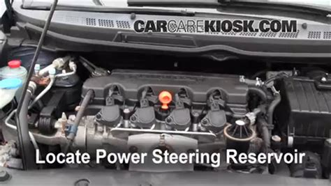 Rack Power Stering Eps Honda City Idsi Soket Bulat fix power steering leaks honda civic 2006 2011 2007