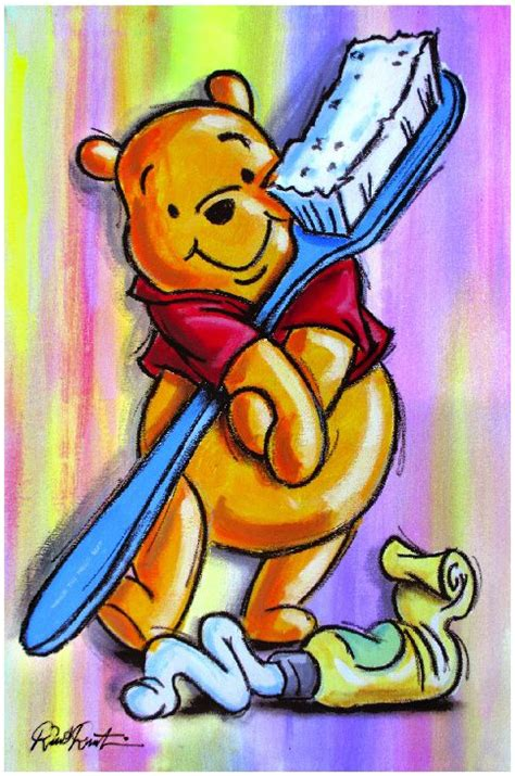 brushing your teeth as much as winnie the pooh stuff posts