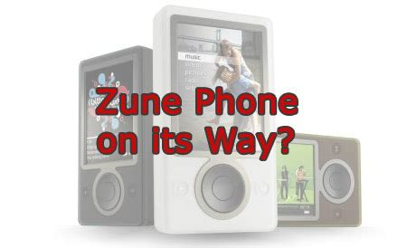 Rumour Fuel Added To The Microsoft Zune About New Models by Is Microsoft Planning To Launch Zune Phone Techshout