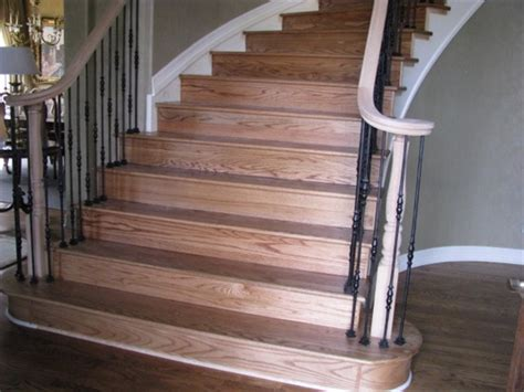 Hardwood Floor Stairs Wood Flooring Installation Laminate Wood Flooring Installation On Stairs