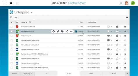 opentext workflow the at opentext enterprise world 2015 general