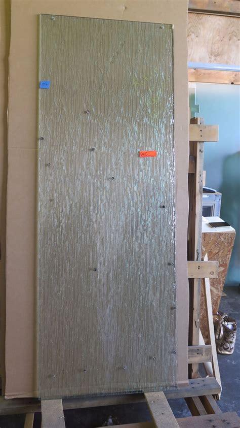 8 Sliding Glass Door Sliding Glass Shower Door 3 16 Quot Clear Textured Pattern 25 5 8 Quot X 74 3 8 Quot 370 Retail