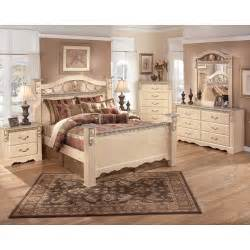 Ashley Bedroom Furniture Sanibel Poster Bedroom Set Signature Design By Ashley