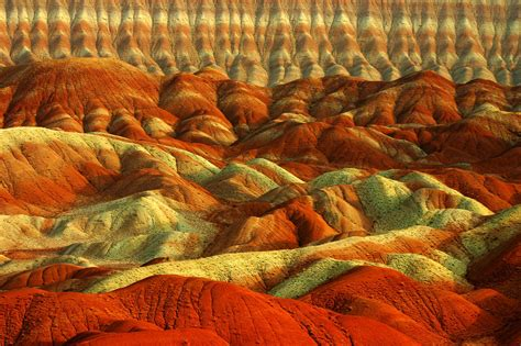 colorful mountains colorful mountains iran tabriz icreatived
