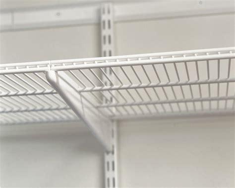 Spur Shelf Brackets by Elfa Spur Hang System Shelf Brackets 320 420 516mm