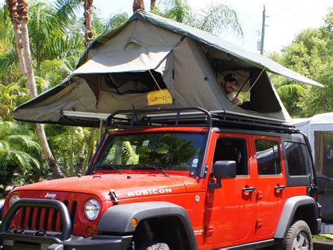 Jeep Wrangler Unlimited Roof Tent How Did You Mount Your Roof Top Tent Jeep Wrangler Forum