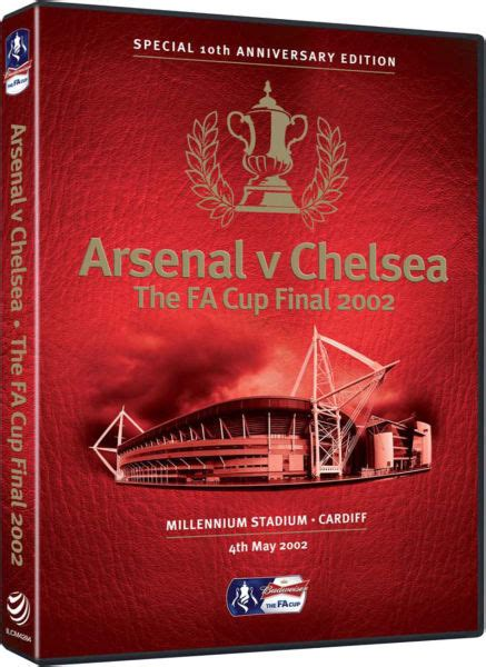 Dvd Chelsea The The Goals The arsenal v chelsea 2002 fa cup dvd zavvi