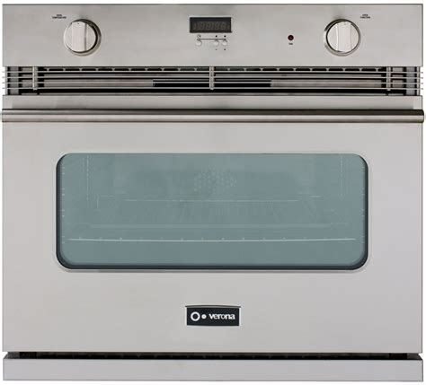 Oven Gas Digital verona vebig30 30 inch single gas wall oven with 3 0 cu