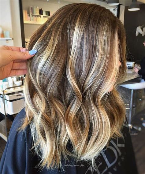 Medium Brown Hair Balayage Pictures To Pin On Pinterest | light medium brown hair with blonde balayage hairstyles