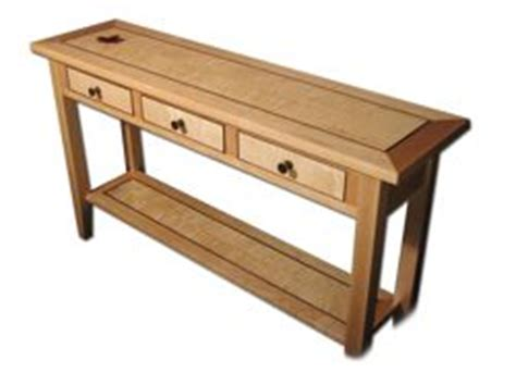 Woodworking Plans Hall Table
