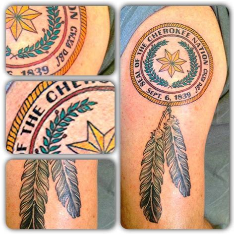 cherokee tattoo nation seal